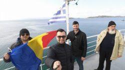 pe vapor de la Athos