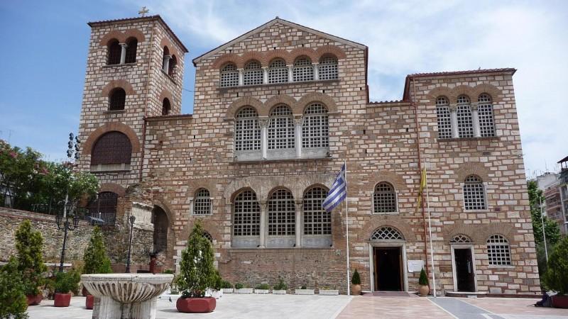 Biserica Sfantului Dumitru Izvoratorul de mir din Salonic
