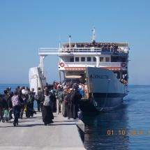Transport persoane la Muntele Athos