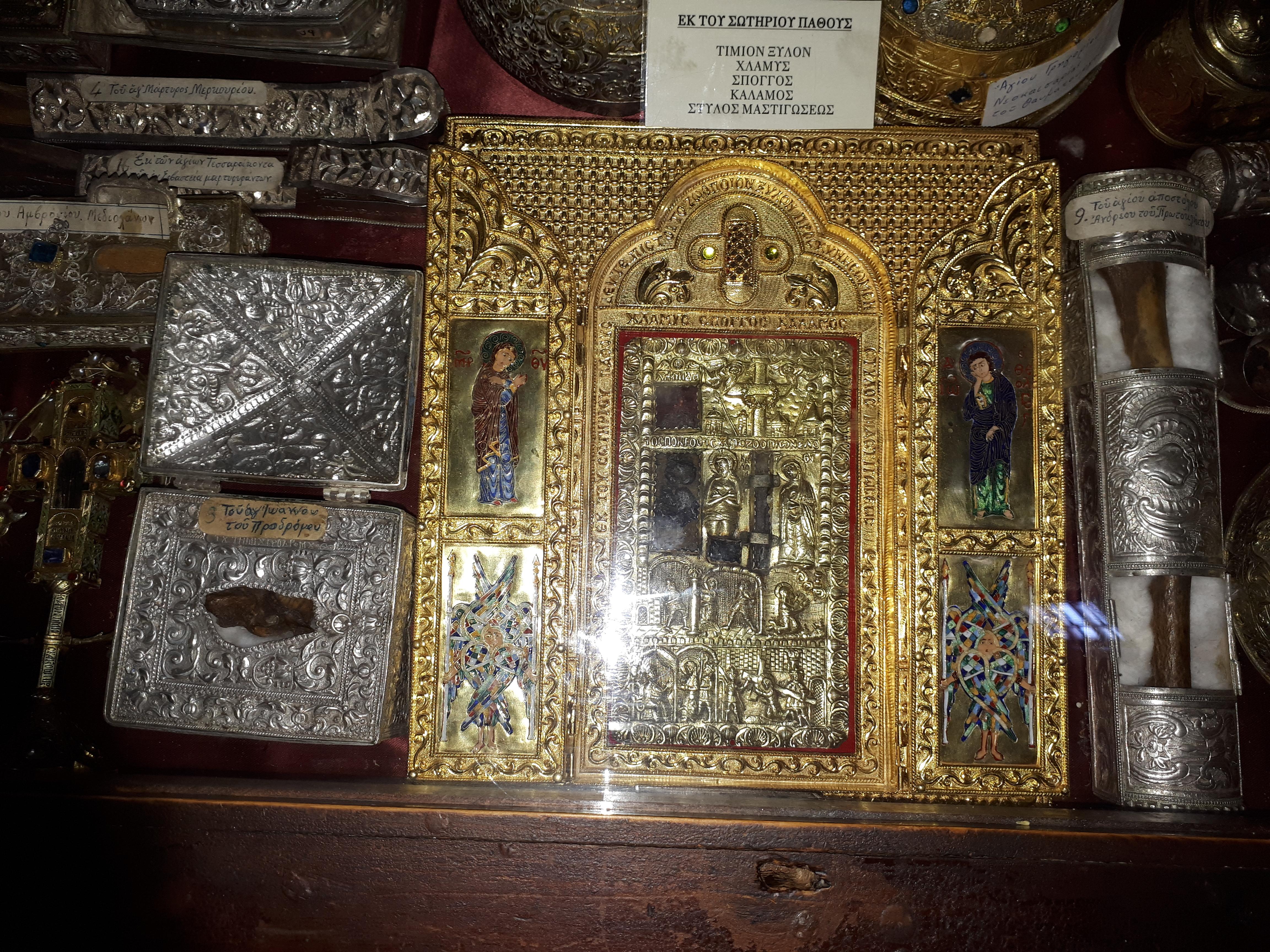 Moaste la Manastirea Iviru3