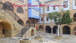 Pelerinaj la Muntele Athos 19-24 iunie 2018
