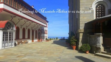 Pelerinaj la Muntele Athos 11-16 iulie 2018