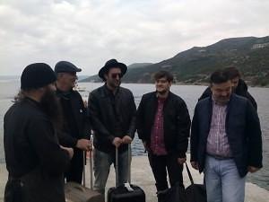 Smiley la Muntele Athos