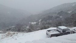 iarna la Muntele Athos