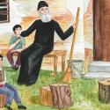 Sfantul Paisie si copii