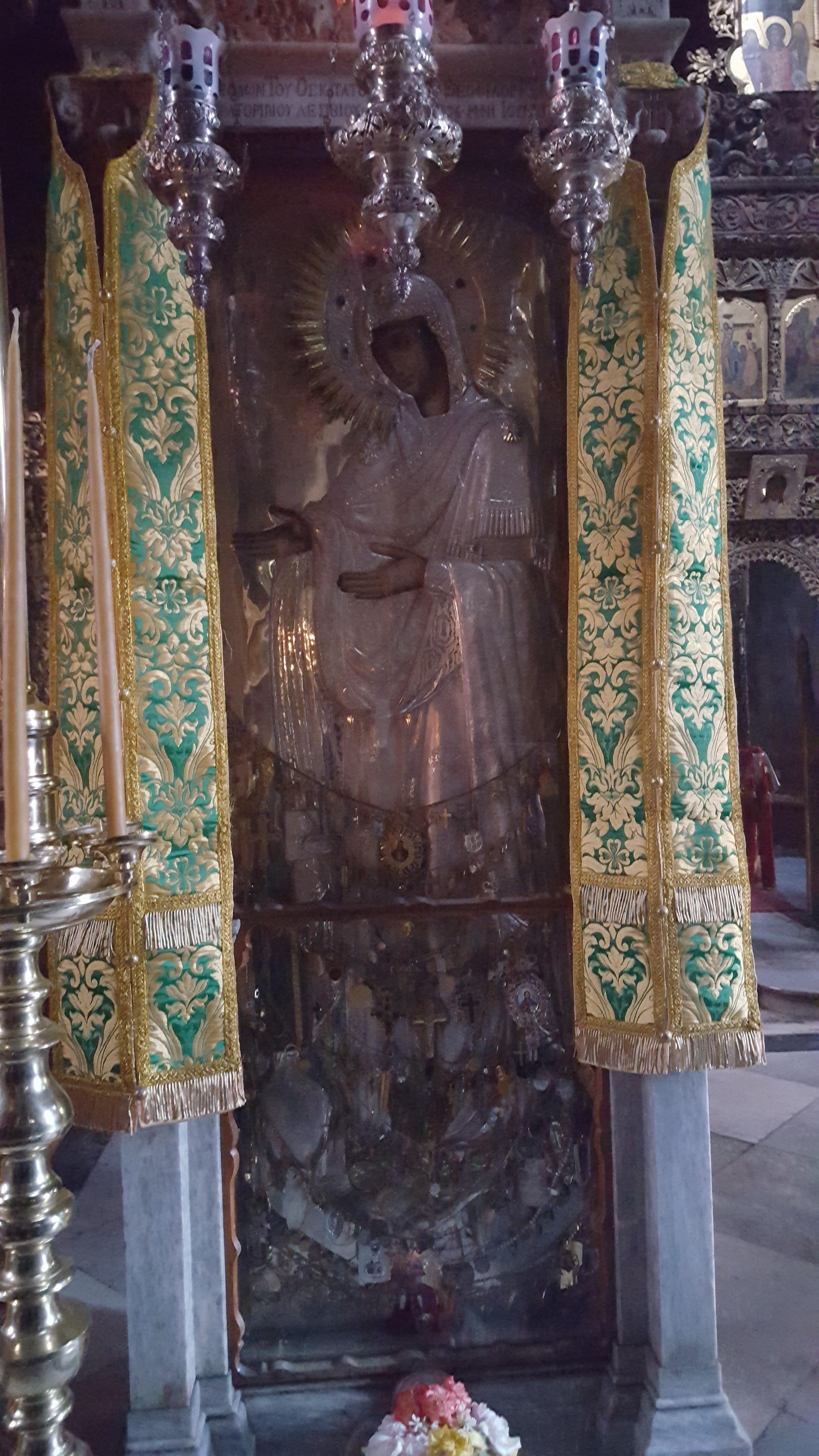 Gherontissa de la Manastirea Pantocrator