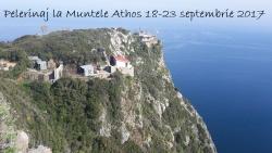 Pelerinaj la Muntele Athos 18-23 septembrie 2017
