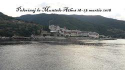 Pelerinaj la Muntele Athos 18-23 martie 2018